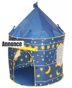 Måne- og stjerne telte til børn